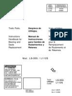 MANUAL DESPIECE GIRBAU LS355
