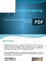 Guest Lecture-Capital Budgeting