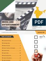Media and Entertainment September 2020