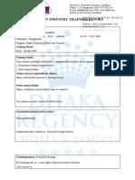 Industry Report (1)
