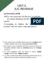 UNIT-2 PUBLIC REVENUE