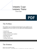 Handout_Pitch Deck and Guidelines