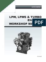 Alpha LPW, LPWS & Turbo Engines Workshop Manual 027-08240 (2012)