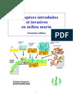 Les espèces introduites et invasives en milieu marin