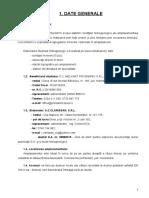 STUDIU HIDROGEOLOGIC