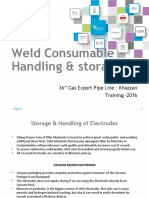 Storage & Handling of Weld Consumables - 1.pptx