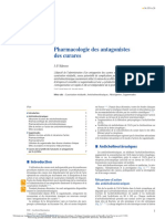 Pharmacologie Des Antagonistes Des Curares