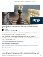 Chess Books on Pawn Play and Structure - for Beginners and Beyond
