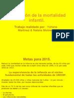 Reducción de la mortalidad infantil.(2)