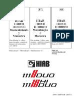 Manual de Operación y Mantención XS111 Duo + HiDuo