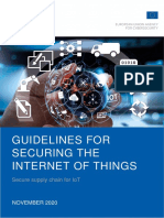 ENISA Report - Guidelines for Securing the Internet of Things