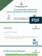 Lineamientos de Prevención y Atención Del Consumo de Sustancias Psicoactivas (SPA)