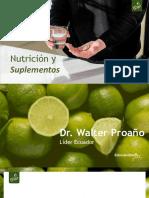 Nutrición y suplementos Dr Walter Proano PDF