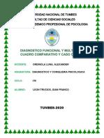 DIAGNOSTICO FUNCIONAL Y DIFERENCIAL