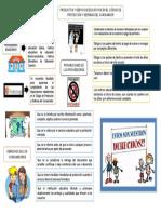infografía derechos de los consumidores en el código de protección al consumidor  en el ambito de servicios educativos