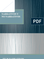 film narrativos y no narrativos
