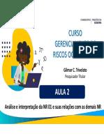 GRO - Aula 2 - Análise e interpretação da NR 01.pdf