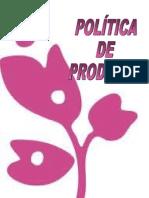 POLITICA DE PRODUCTO