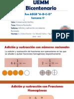 Semana 17-Matemática