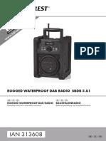 Silvercrest Rugged Waterproof Dab Radio_sbdb_5_a1