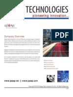 Qseap Technologies Corporate Profile