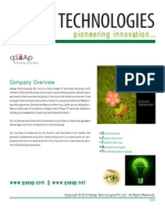 Qseap Technologies Corporate Profile Green IT