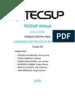 Grupo 58 - Sistemas Eléctricos de Potencia - TECSUP Virtual