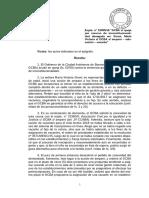 """Expte. n° 15955/18 """"GCBA s/ queja por recurso de inconstitucionalidad denegado en"""