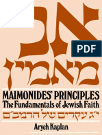 Maimonides' Principles_ The Fundamentals of Jewish Faith - Aryeh Kaplan.pdf