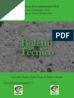 Boletim Técnico 4 - Vida Útil na Construção Civil - Branco, Paulo e Garrido - ALCONPAT 2013