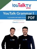 Class 8.1 Grammar