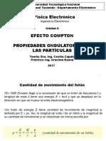 Efecto Compton-Dualidad onda partícula 2017