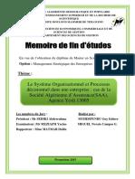 le systéme organisational et processus décisionnel dans une entreprise- cas de la societe algerienne d'asssurance SAA age_1.pdf