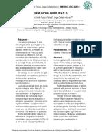 Artículo Inmunoglobulinas D IgD
