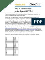 Ohio Travel Advisory 12-23-2020