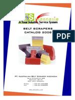 ABS Belt Scraper Catalog