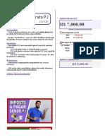 Finanças - Calculadora CLT x PJ
