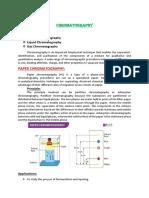 Chromatography by ADNAN RAFIQ