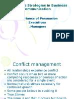 Persuasive Strategies in Business communication