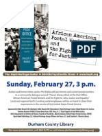 African American Postal Workers and the Fight for Justice
