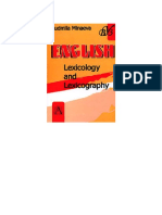 English. Lexicology and Lexicography ( PDFDrive )