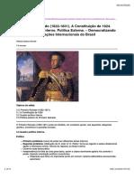 00003 O Primeiro Reinado (1822-1831)