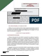 Sentencia en Contra Obligación Publicar Datos Inmatriculaciones 2020