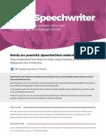 Try a Speechwriter