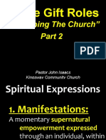 01-30-2011 Experiencing God in the Church-Equipping the Church Part 2