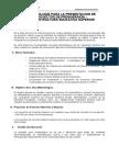 Metodologia para la presentacion Proyectos Preinversion