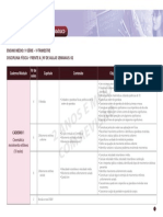 Planejamento Pedagógico - 1º Ano - Física - 1º Trimestre - Caderno 01 - Frente A