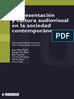 Ardevol & Muntañola (eds.) - 2004 - Representación y cultura audiovisual en la sociedad contemporánea.pdf