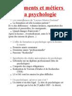 Fondements et métiers de la psychologie 3