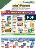 Landry's Pharmacy - February 2011 On Sale Flyer